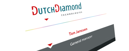 Dutch Diamond Technologies, Cuijk | Branding & Corporate Identity | Webdevelopment